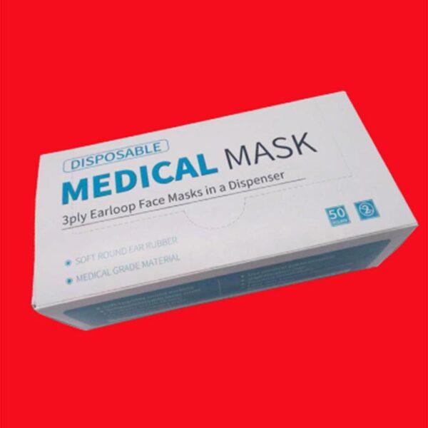 3-ply medical grade type 1 face masks
